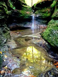 Autumn reflections, Turkey Run State Park